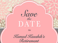 Retirement Save The Date