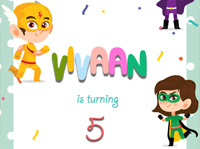 Vivaan Birthday