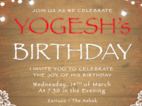 Yogesh Birthday